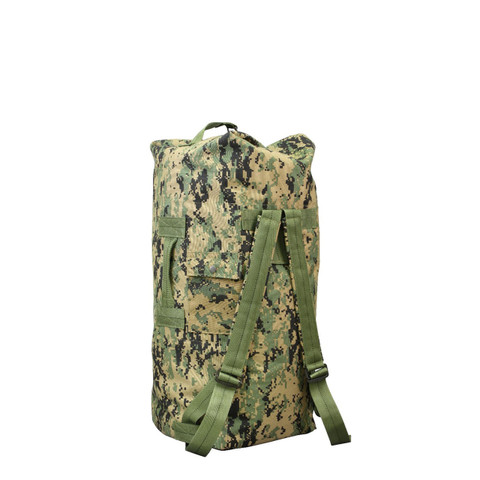 79c59bc38b28 Shop Woodland Digital Camo Backpack Duffle Bag - Fatigues Army Navy Gear