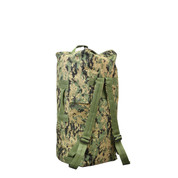 Woodland Digital Camo Backpack Duffle Bag - View