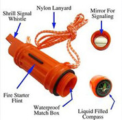 Deluxe 5 in 1 Survival Whistle