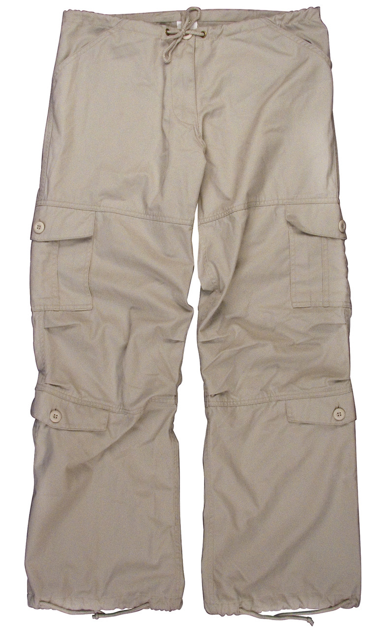 3fe010bbd3 Shop Women's Stone Vintage Paratrooper Pants - Fatigues Army Navy Gear