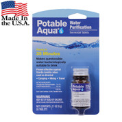Potable Aqua Water Purification Tablets - USA View