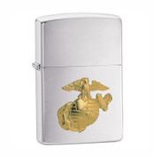 Marine Crest Zippo Chrome Lighter
