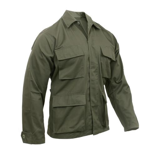 Rothco Olive Drab BDU Fatigue Jacket - View