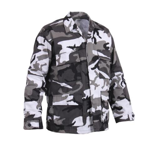 Urban Camo BDU Fatigue Jackets - Right Side View