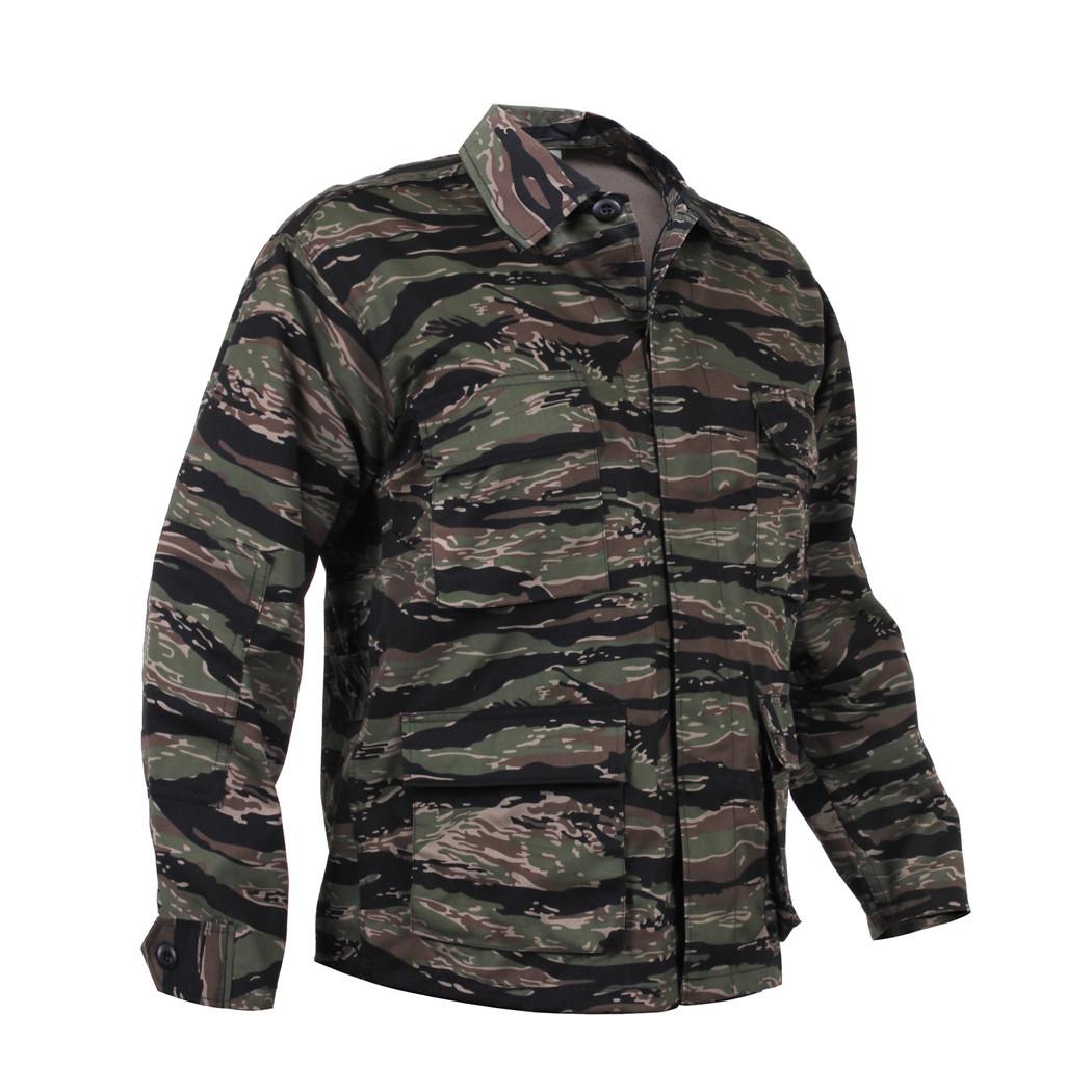 bff3efeae2b36 Shop Tiger Stripe Camo BDU Jackets - Fatigues Army Navy Gear