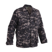 Subdued Urban Digital Camo BDU Fatigue Jacket - Right Side View