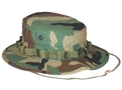 f9774d7e16857 Shop Woodland Camo Military Boonie Hat - Fatigues Army Navy Gear