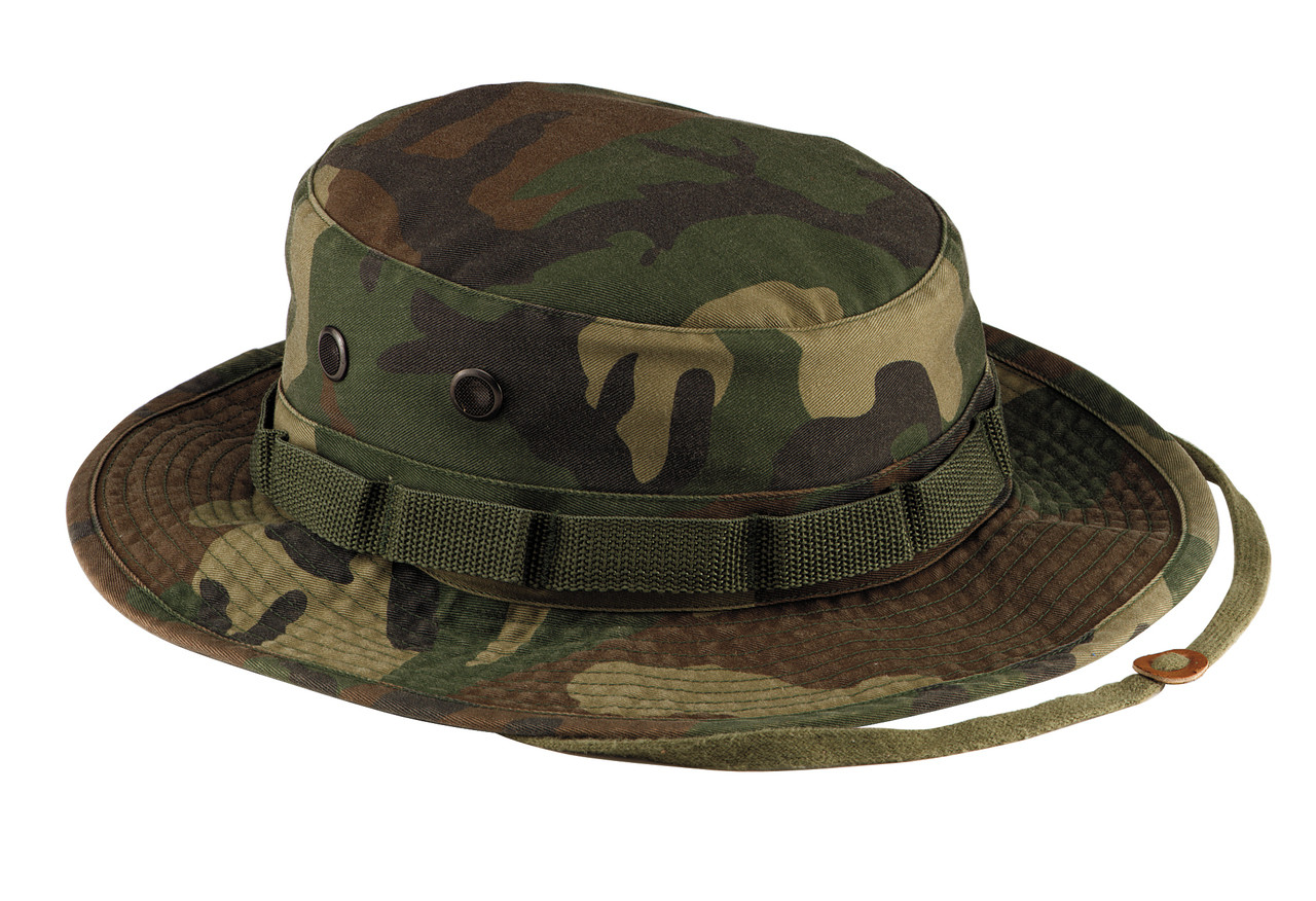 a199a8f4253 Shop Woodland Camo Vintage Boonie Hats - Fatigues Army Navy