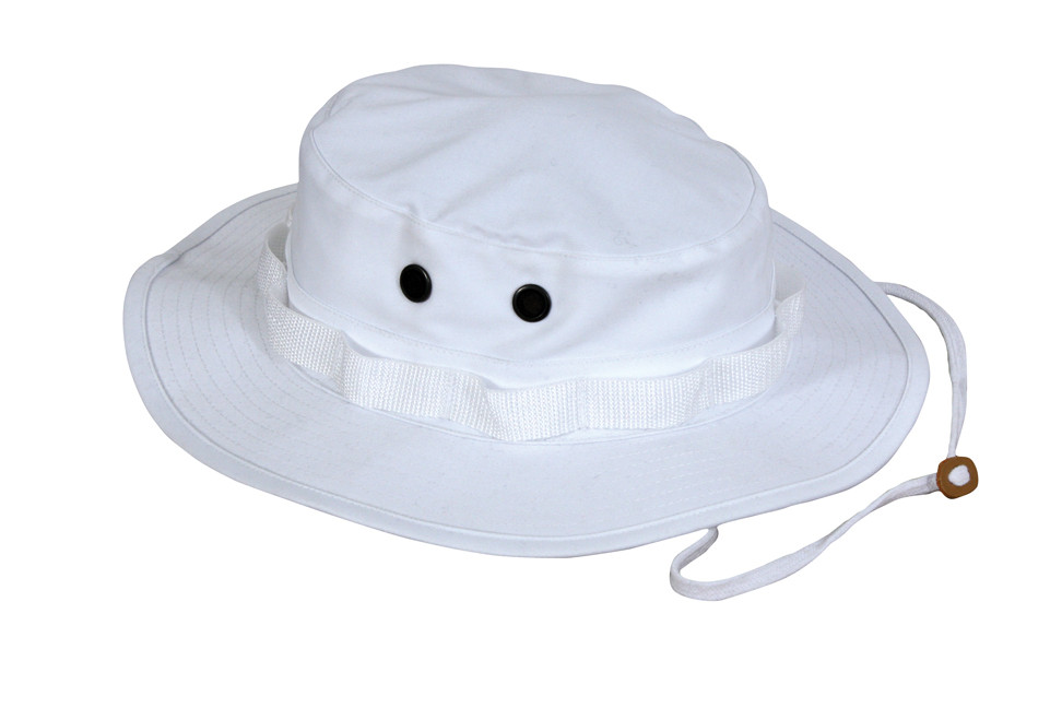 f02f74019c5 Shop White Outdoor Boonie Hat - Fatigues Army Navy Gear