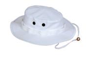White Outdoor Boonie Hat - View