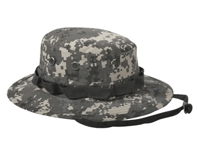 Subdued Urban Digital Camo Boonie Hat - Full View