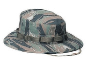 Military Tiger Stripe Camo Boonie Hat - View