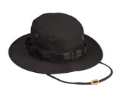 Black Military Boonie Hat - View