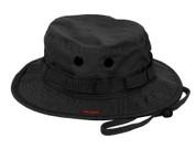 Vintage Black Boonie Hat-View
