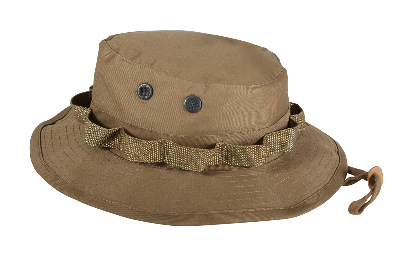 Shop Coyote Brown Military Boonie Hat - Fatigues Army Navy Gear c54fdb476b78