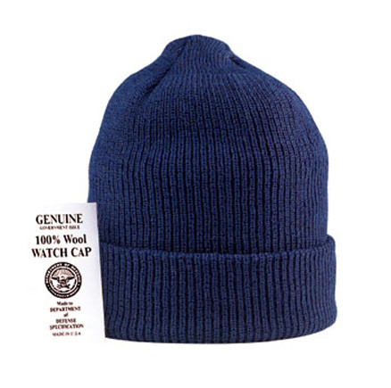 bc601887c6216d Shop Navy Wool Watch Caps - Fatigues Army Navy Gear