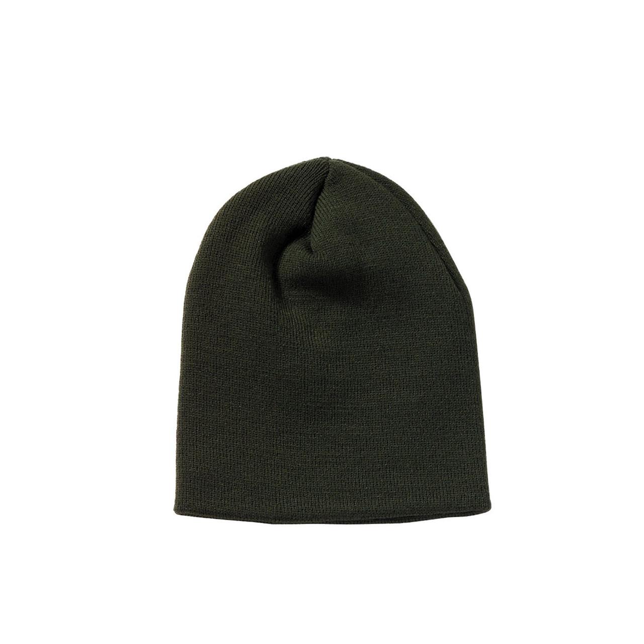 fac6d9f68c257 Shop Deluxe Olive Drab Skull Cap - Fatigues Army Navy Gear