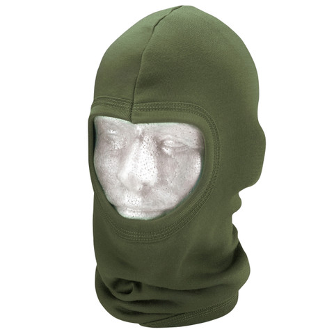 Olive Drab Polypro Balaclava Face Mask - View