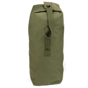 "OD 50""Heavy Canvas Jumbo Top Loading Military Duffle Bags- View"