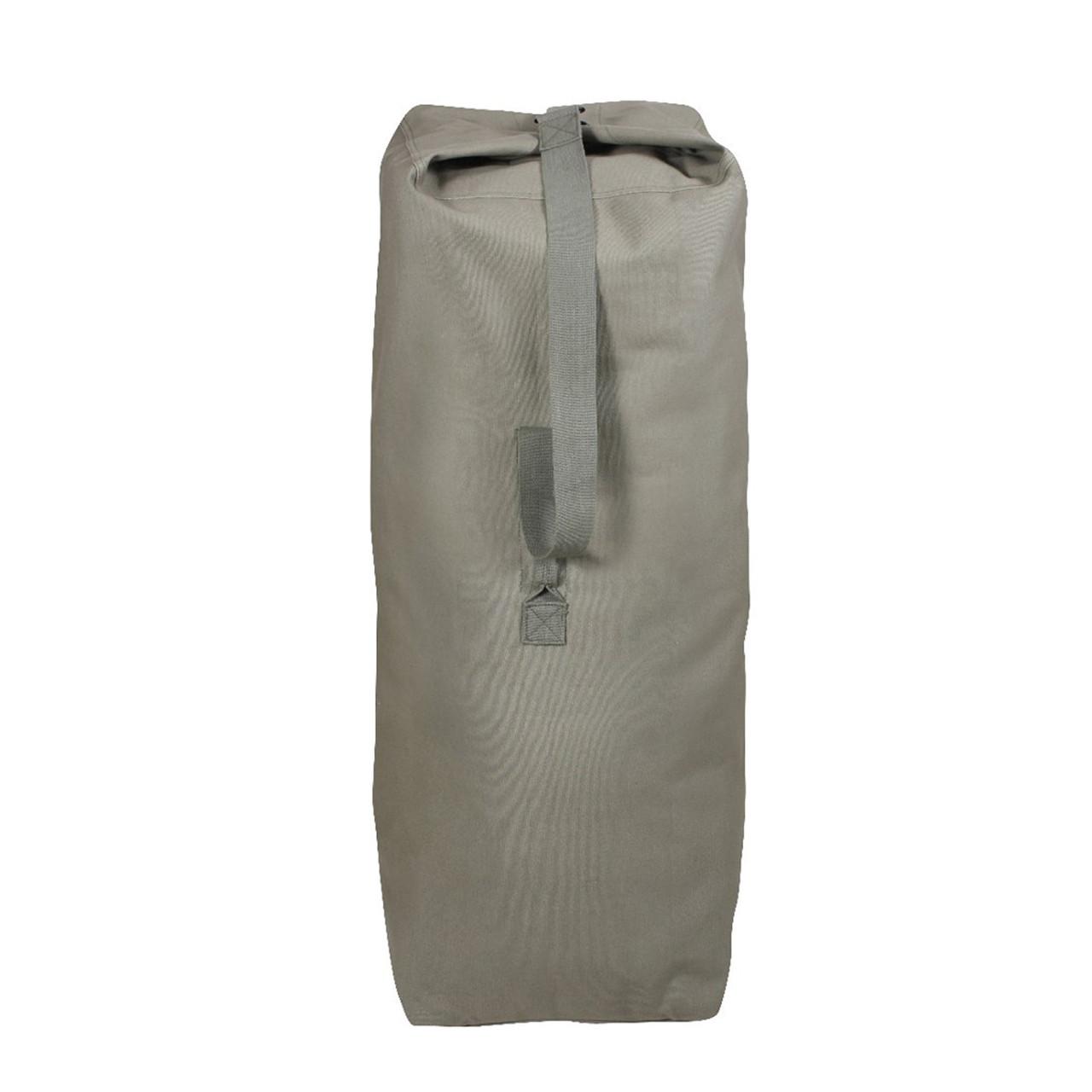 5d240b956 Shop Heavyweight Top Load Duffle Bags - Fatigues Army Navy Gear