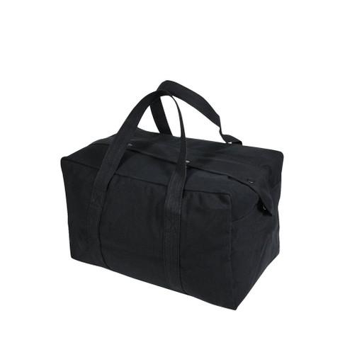Small Black Parachute Cargo Bag - View