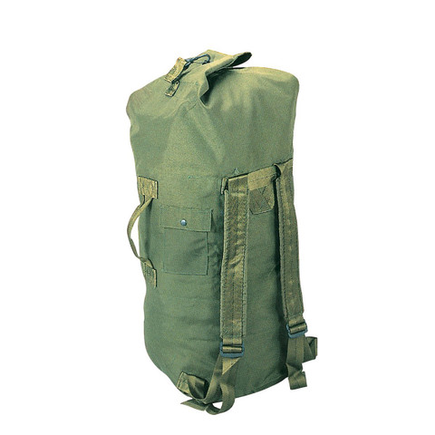 Enhanced Nylon Olive Drab Backpack Duffle Bag - View