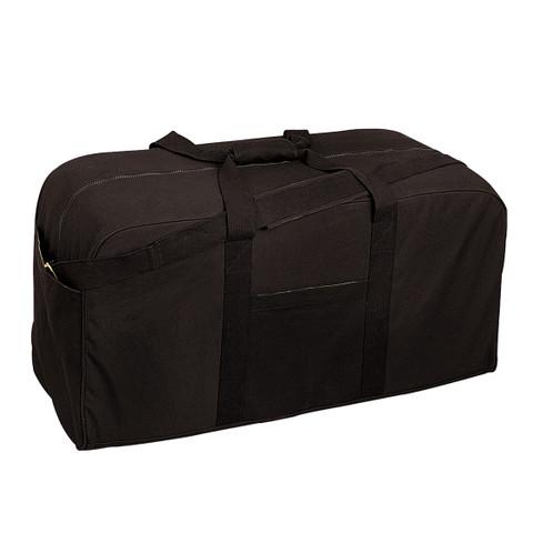Black Jumbo Tactical Cargo Gear Bag - View