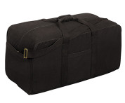 Black Assault Tactical Cargo Gear Bag - View