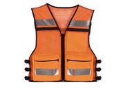 Orange Public Safety Mesh Vest