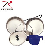 Rothco Stainless Steel 5 Piece Mess Kit - Rothco View