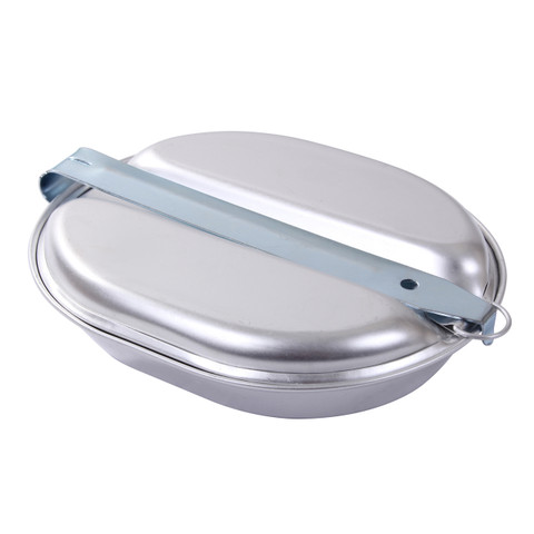 GI Aluminum Mess Kit - Closed View