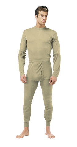 Desert Sand GEN III Silk Weight Underwear Tops - View
