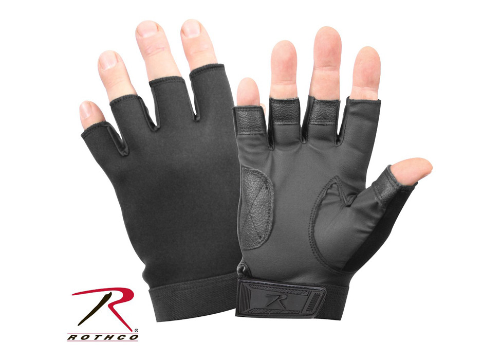 Thin Neoprene Gloves Rothco 3155 Black Security Multi-Purpose Ultra