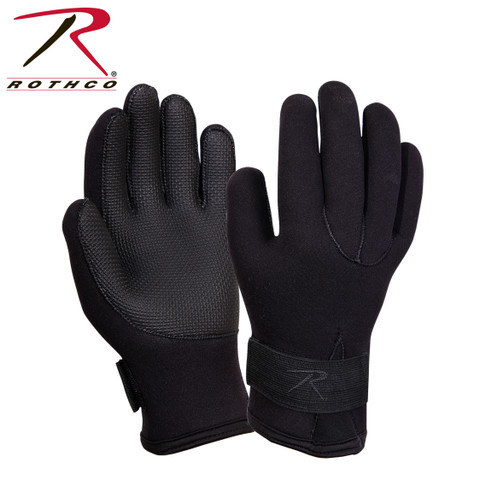 Rothco Waterproof Cold Weather Neoprene Gloves - View