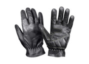 Military Leather Shooters Gloves - Pair View