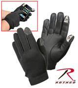 Rothco Touch Screen Synthetic Rubber Gloves - Combo View