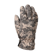 ACU Digital Camo Insulated Gloves - Top View