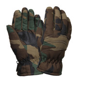 Woodland Camouflage Thermo Insulated Hunting Glove - View