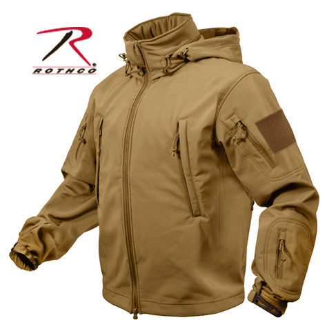 Rothco Special Ops Tactical Soft Shell Jacket - Coyote