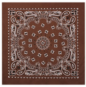 Brown Trainman Bandana