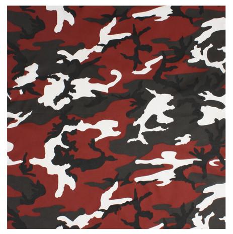 e5bce14166a9a9 Shop Red Camo Bandanas - Fatigues Army Navy
