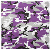 Purple Camo Bandana