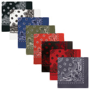 "Jumbo Trainman Bandanas 27"" x 27"" - Group View"