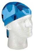 Sky Blue Camo Head Wraps