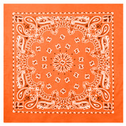 Orange Trainman Bandana - View