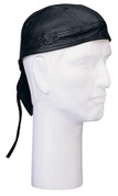 Black Leather Head Wrap