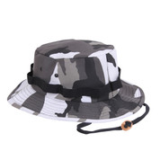 Urban City Camo Jungle Hat - View