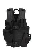 Kids SWAT Tactical Cross Draw Vest - Front View