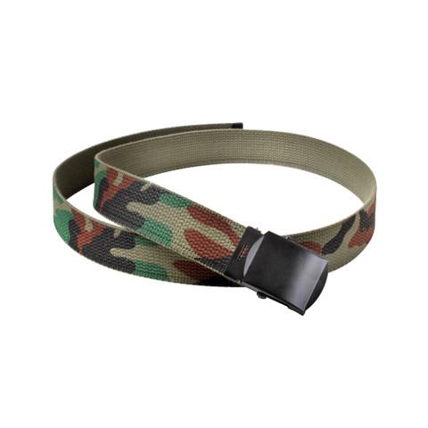 Kids Army Camo Web Belt - View