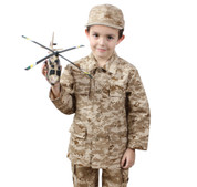 Kids Desert Digital Camo Jackets - Jacket View